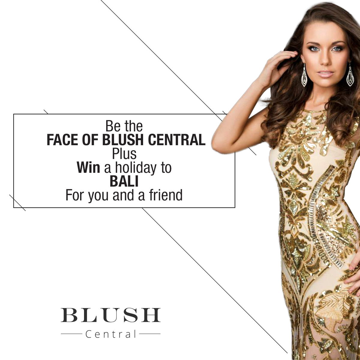 FACE OF BLUSH CENTRAL COMPETITION Entry details and terms and conditions